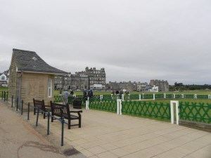 Old Course St. Andrews - Abschlag