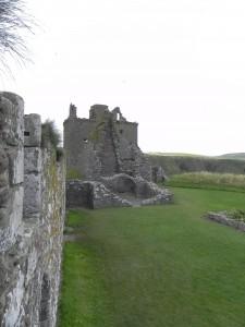 Dunnottar Castle - Innenhof