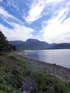 Loch Eil bei Corpach