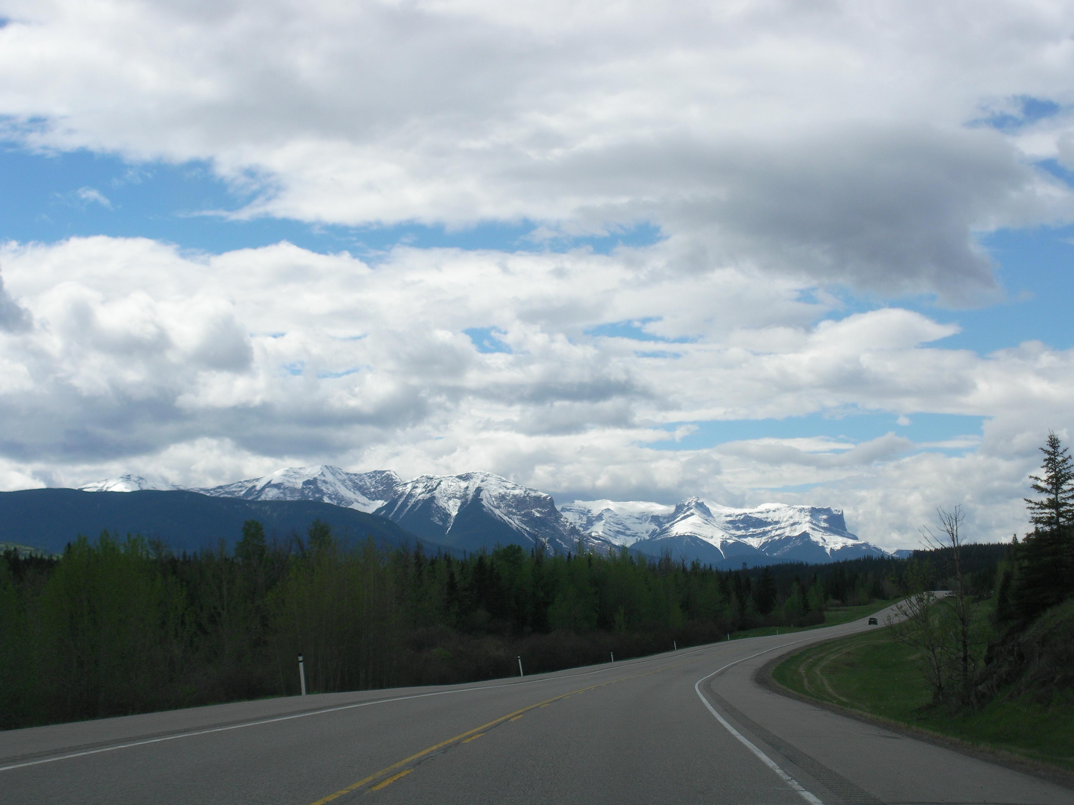 Auf in die Rocky Mountains