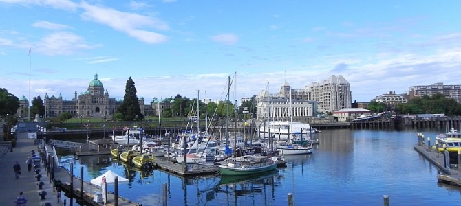 """Die """"City of Gardens"""" und eine Fährfahrt nach Vancouver"""