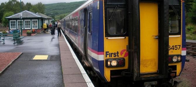 Fahrt nach Edinburgh und Edinburgh Castle