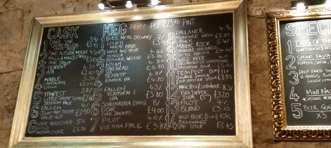 Biertrinken in Edinburgh (Teil 1)