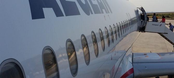 Der Flug nach Hause