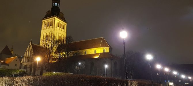 Ein normaler Freitag Nachmittag und Abend in Tallinn
