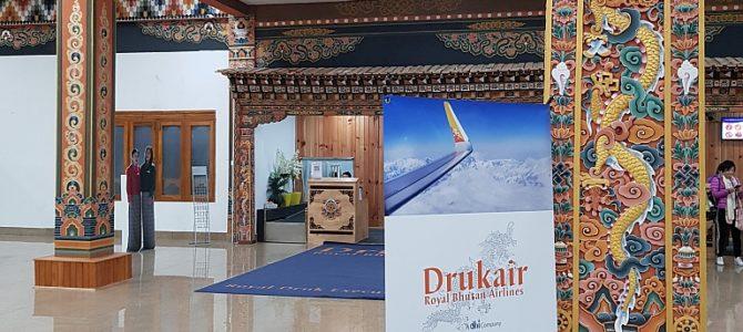 Abflug aus Bhutan